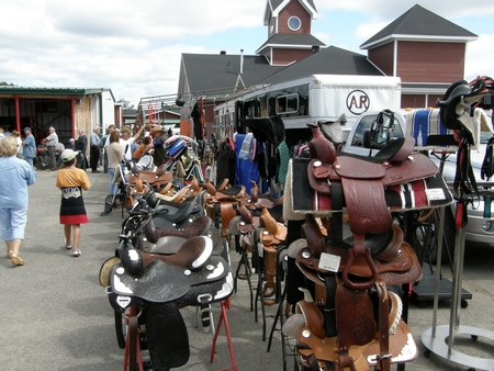 You'll also find all the equipment needed for riding horses at the Lachute Farmers Market